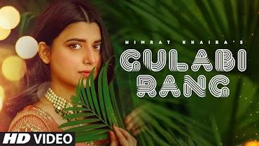 गुलाबी रंग Gulabi Rang Lyrics in Hindi - Nimrat Khaira
