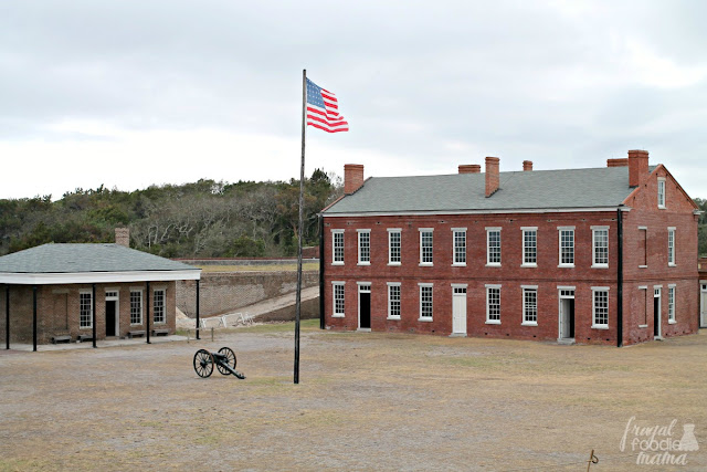 Situated on over 1,400 acres, Fort Clinch offers hiking trails, fishing, swimming, and camping in addition to the fort itself which has been historically preserved to how it looked in 1864 during the Civil War.