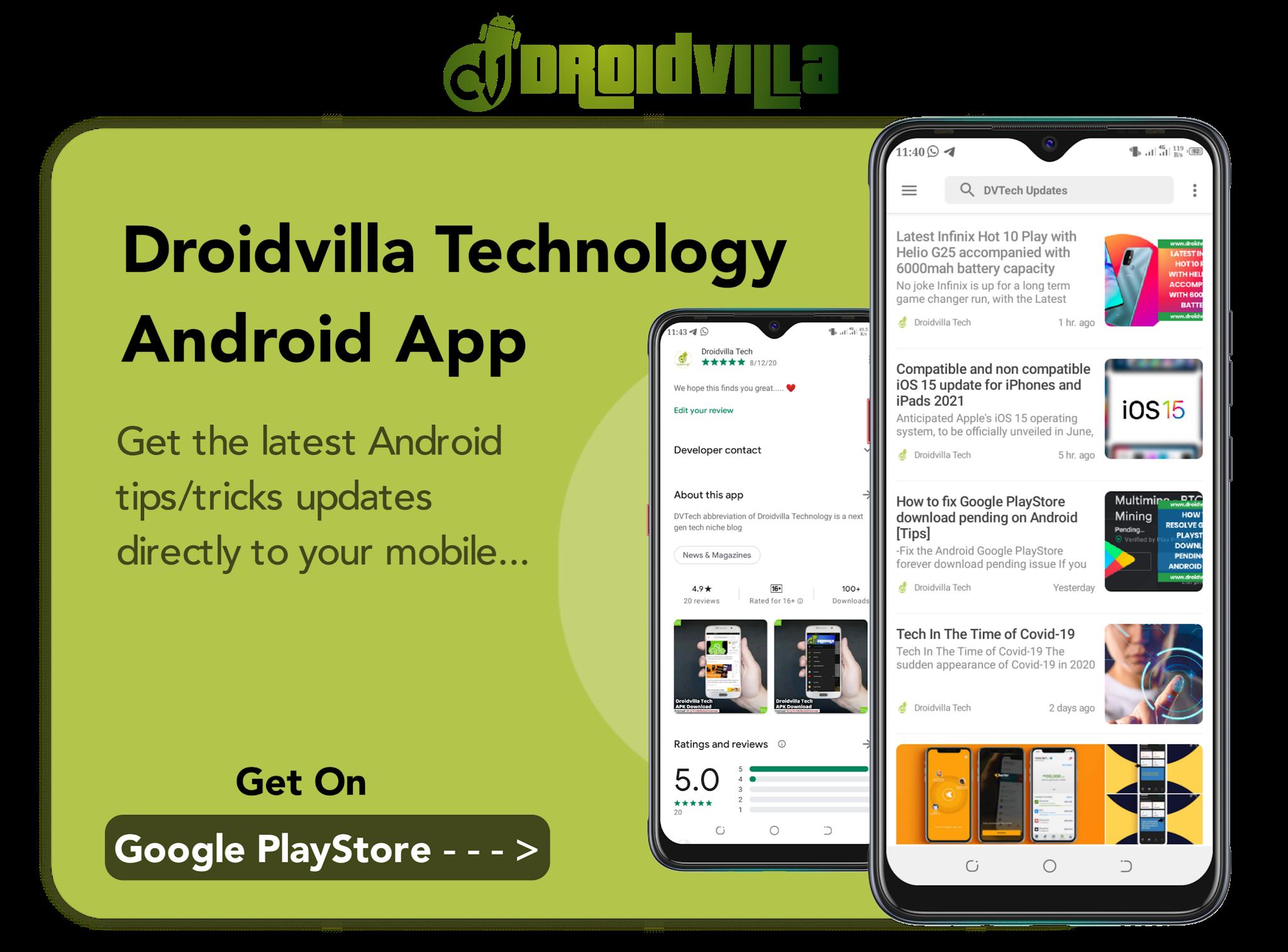 Dvtech apk app download