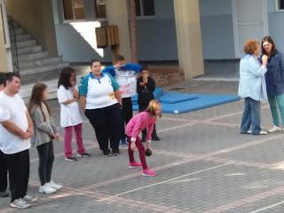 4η Πανελλήνια Ημέρα Σχολικού Αθλητισμού, 2 Οκτωβρίου 2017, και με τη συμμετοχή των  Special Olympics Π.Ε. Εύβοιας