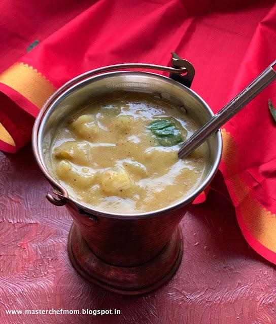 Chow Chow Kootu Recipe   How to make Chayote Squash Kootu Dal in Pressure Cooker