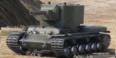 Một chiếc kv-2 trong game