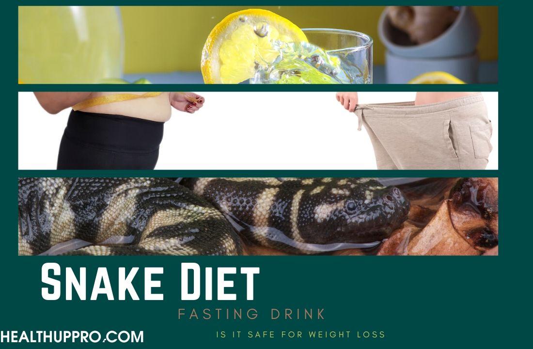 is snake diet drink safe