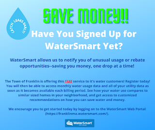 Attention Franklin: Want to know how much water you use?