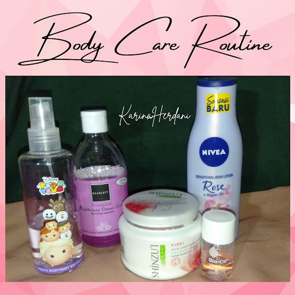 body care routine