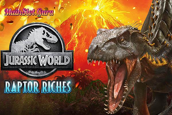 Main Gratis Slot Demo Jurassic World Raptor Riches Microgaming