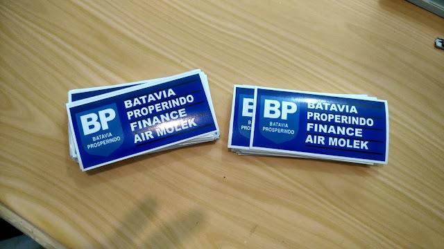 Stiker Batavia Properindo