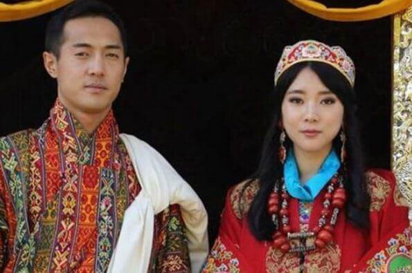 Bhutan Royal wedding. Dasho is the brother of Queen Jetsun Pema. Princess Eeuphelma is half-sister of King Jigme Khesar Namgyel Wangchuck