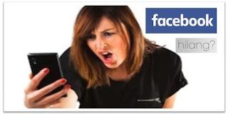 cara menemukan akun facebook yang hilang