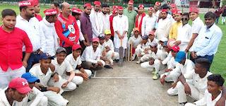 राष्ट्रीय खेल दिवस पर सपा ने खिलाड़ी घेरा कार्यक्रम का किया आयोजन   #NayaSaberaNetwork