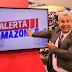 Jornalista Sikera Jr estreou na telinha da TV A Crítica, emissora regional do Amazonas, na última terça