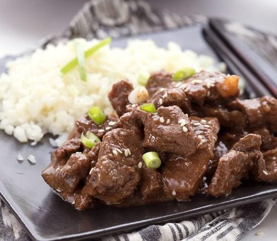 SLOW COOKER MONGOLIAN BEEF – KETO RECIPE #diet #healthydinner