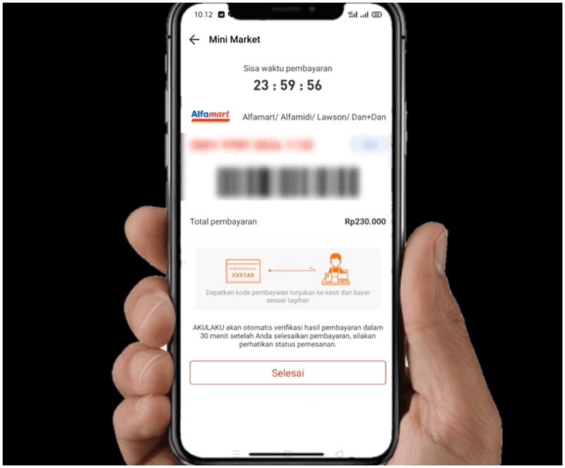 kode pembayaran cicilan akulaku di alfamart