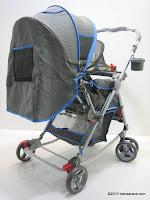 Kereta Bayi Pliko PK268R Grande Rocker - Hadap Depan atau Belakang
