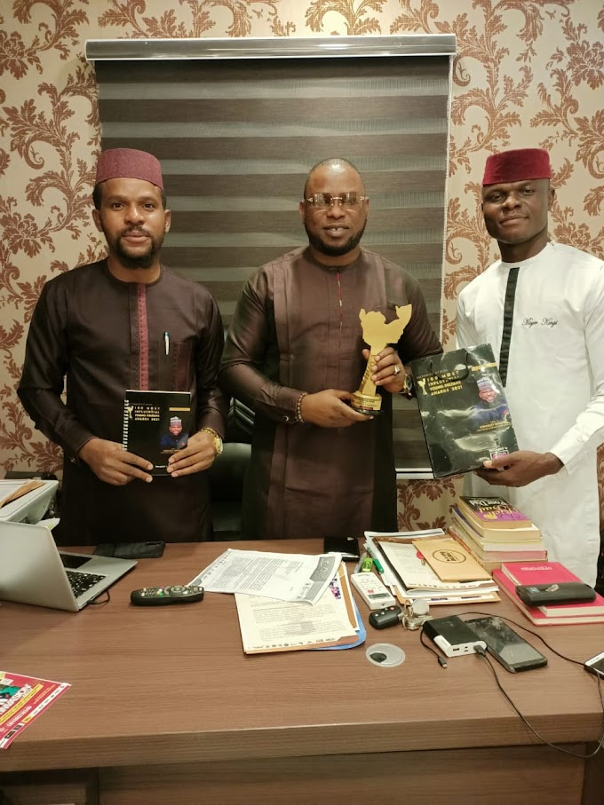 Chairman Of Peace Ambassador Agency Amb. Amafibe Bags 100 Most Influential Young Deltans Award 2021