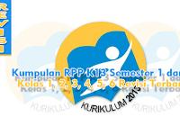 Kumpulan RPP K13 Semester 1 dan 2 Kelas 1, 2, 3, 4, 5, 6 Revisi Terbaru