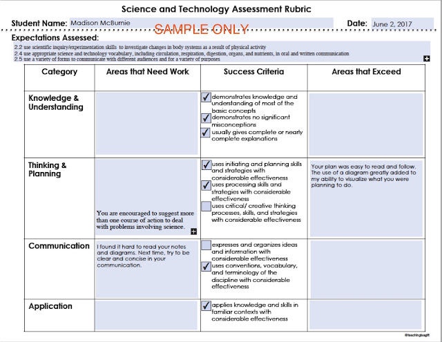 Setting Up Centres for Science and Technology @teachingisagift.blogspot.ca