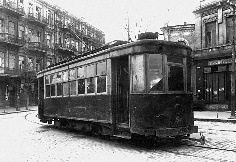 Трамвай в Севастополе. 1941 год