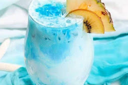 Mermaid Rum Punch #drinks #partyideas