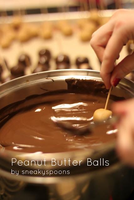Peanut Butter Balls | SneakySpoons