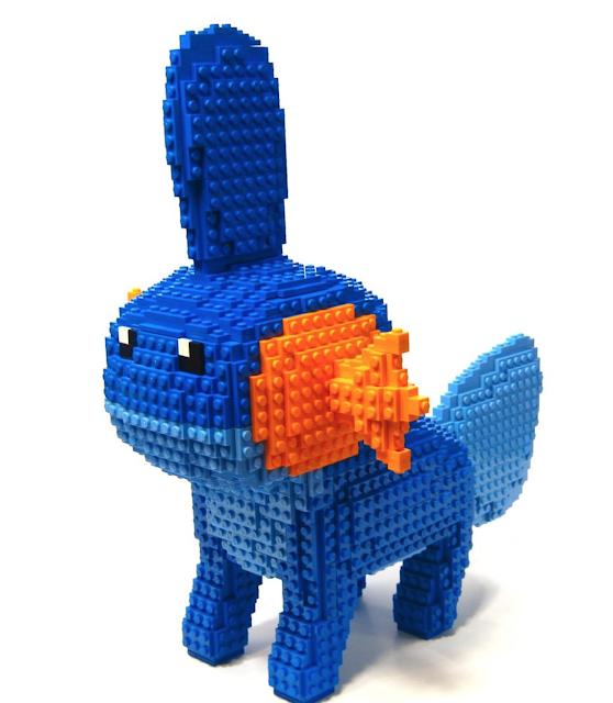 Alucina con estos pokémon hechos con piezas LEGO 3