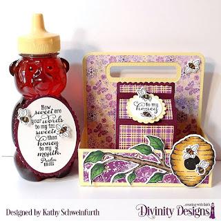 Stamp/Die Duos: Bee-lieve Custom Dies: Milk Carton Holder, Milk Carton with Layers, Ovals, Scalloped Ovals, Circles, Scalloped Circles Paper Collection: Whimsical Wildflower