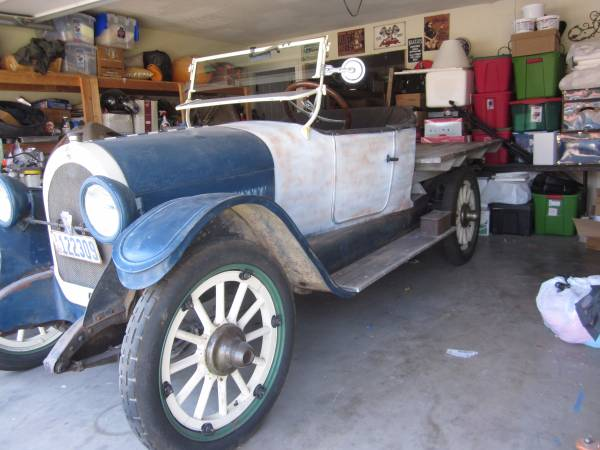 1922 Oldsmobile 43A Truck