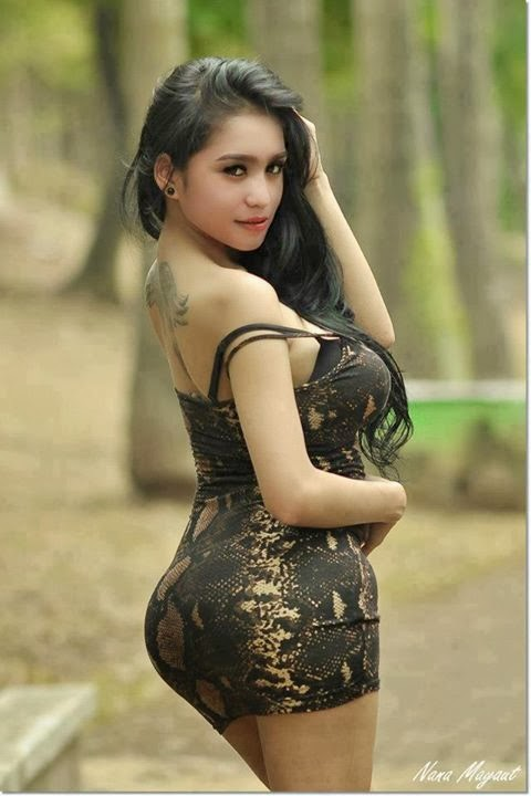 Hot Indonesian Girls With Tattoos Pics  Jakarta100Bars -4656