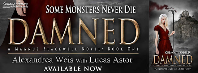 [New Release] DAMNED by Alexandrea Weis w/ Lucas Astor @alexandreaweis @EJBookPromos #Excerpt #Review
