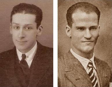 Los ajedrecistas Antoni García Castellà y Jaime Casas Casas