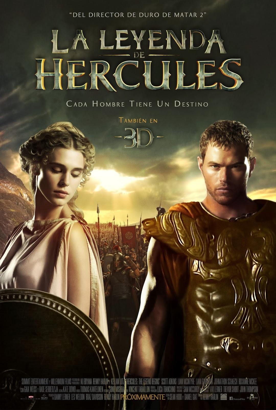 Hercules 3D Movie starring Kellan Lutz : Teaser Trailer |Kellan Lutz Hercules Poster