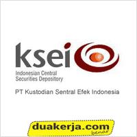 Lowongan Kerja PT Kustodian Sentral Efek Indonesia (KSEI) Lulusan SMA,SMK,D3,S1 Hingga 29 Juli 2016