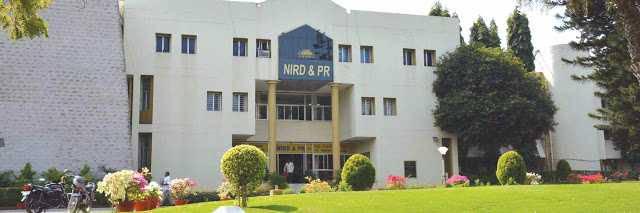 NIRDPR Hyderabad