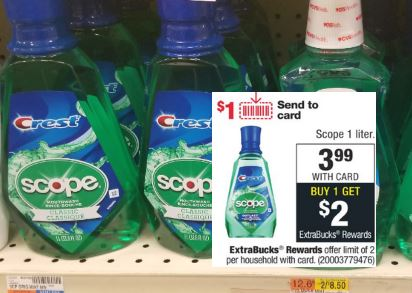 FREE Scope CVS Couponers Deal 9-6-9-12