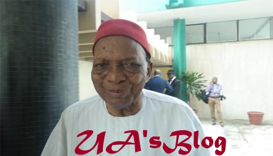 Court lacks power to stay action on pending bill – Prof. Nwabueze