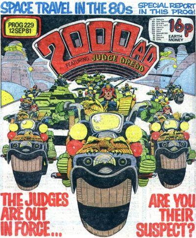 2000 AD Prog 229, Judge Dredd