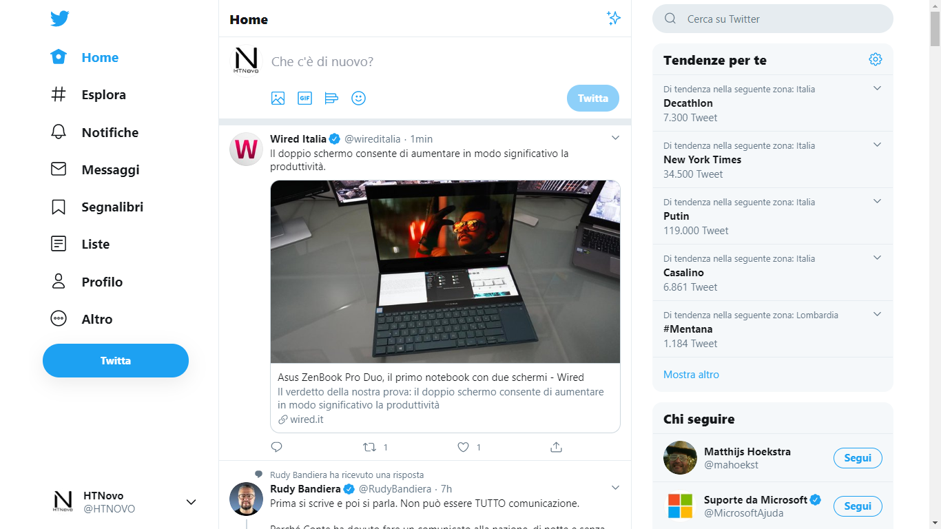 Twitter si aggiorna con diverse novità