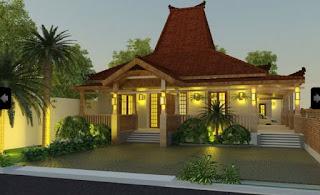 Gambar Desain Rumah Joglo Modern 3