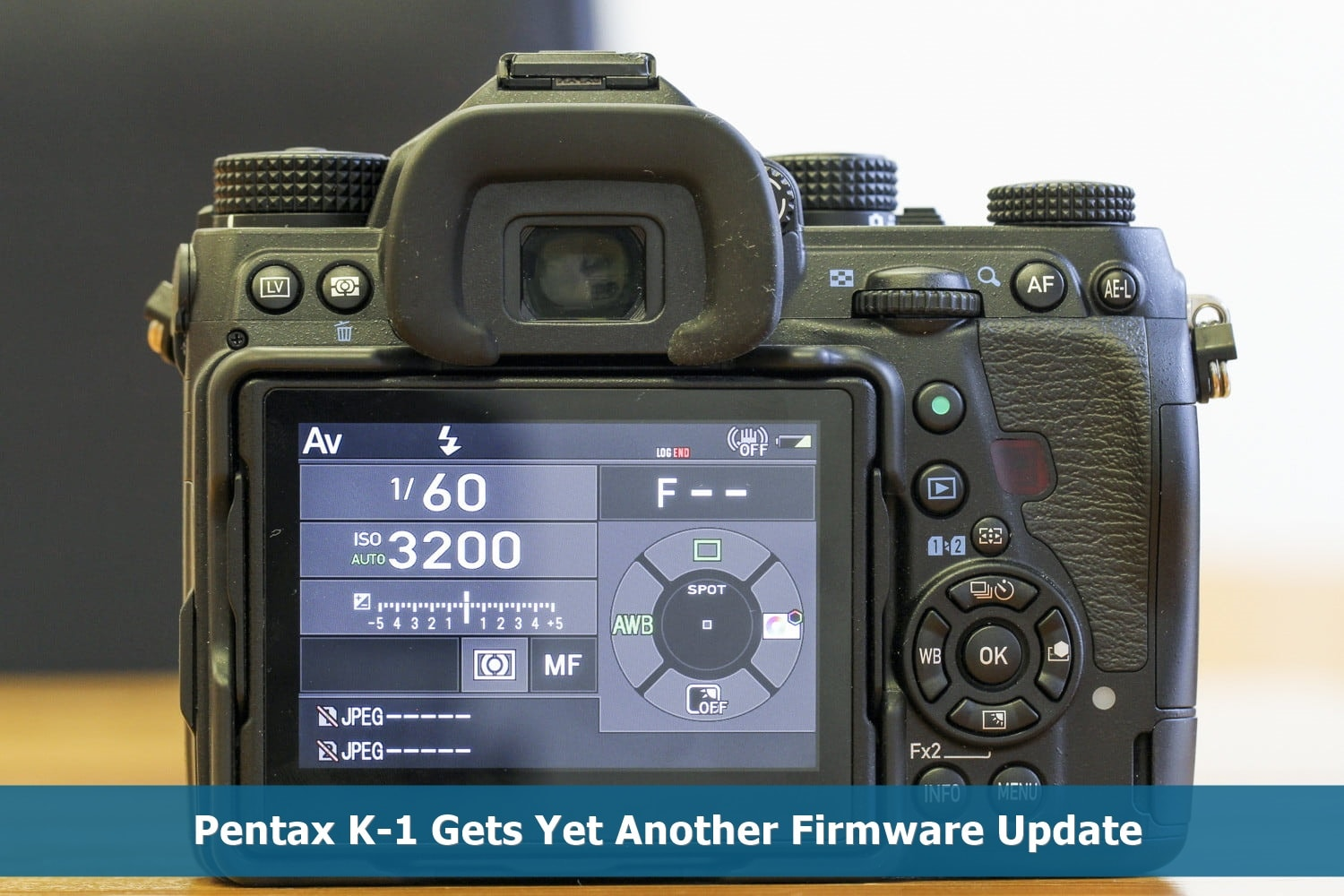 Pentax K-1 Gets Yet Another Firmware Update