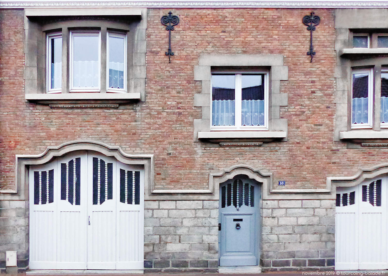 Ancres architecturales Tourcoing - Rue Boule d'Or.