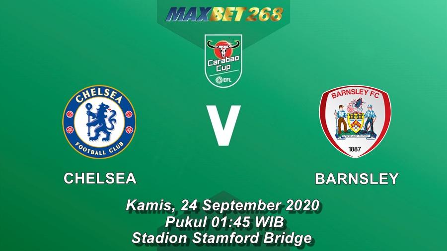 Prediksi Chelsea Vs Barnsley, Kamis 24 September 2020 Pukul 01.45 WIB @ Mola TV
