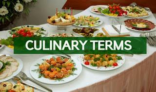 Culinary Terms CCP on Innovative Future