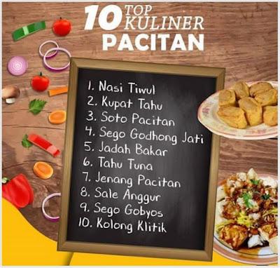 10 TOP KULINER PACITAN