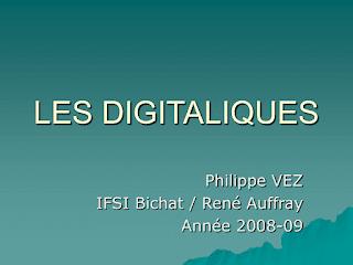 LES DIGITALIQUES.pdf
