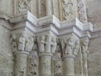 Arcos entrada Iglesia de Santa María de la Peña Brihuega