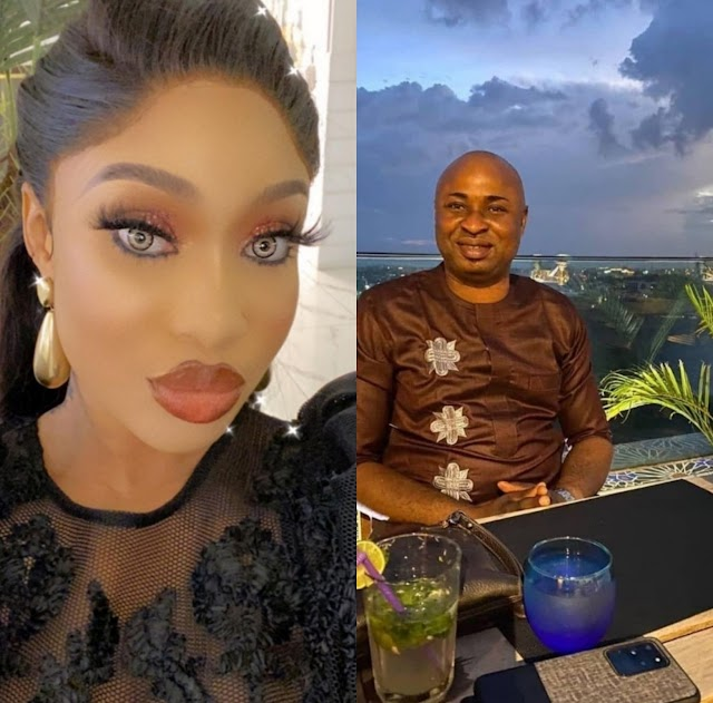 Tonto Dikeh reacts after Prince Kpokpogri's friend, Mayor Blessing, spoke in her defence