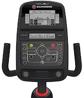 Schwinn 230 console with standard LCD display, image