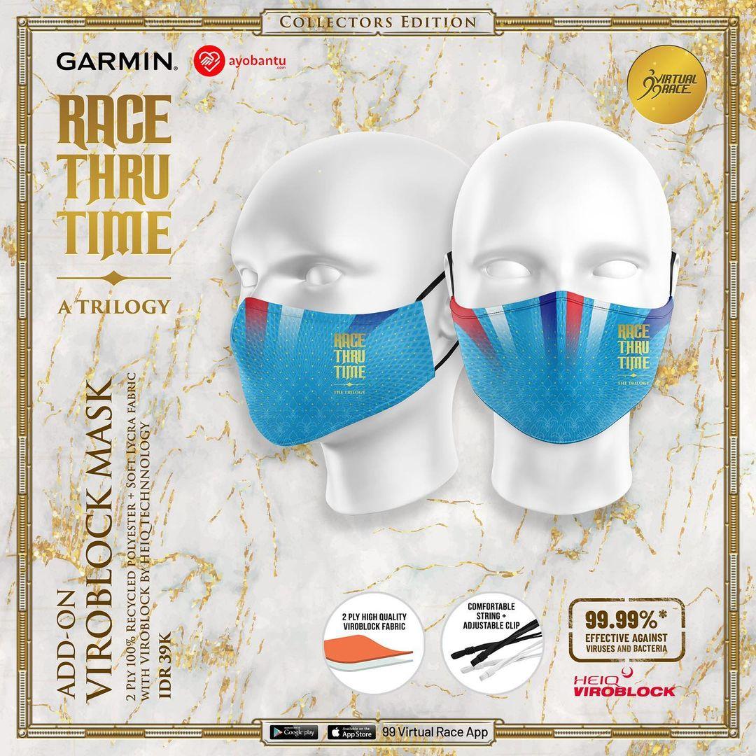 Masker 😷 Race Thru Time - A Trilogy ! Seri I: Speed - The Hourglass • 2021
