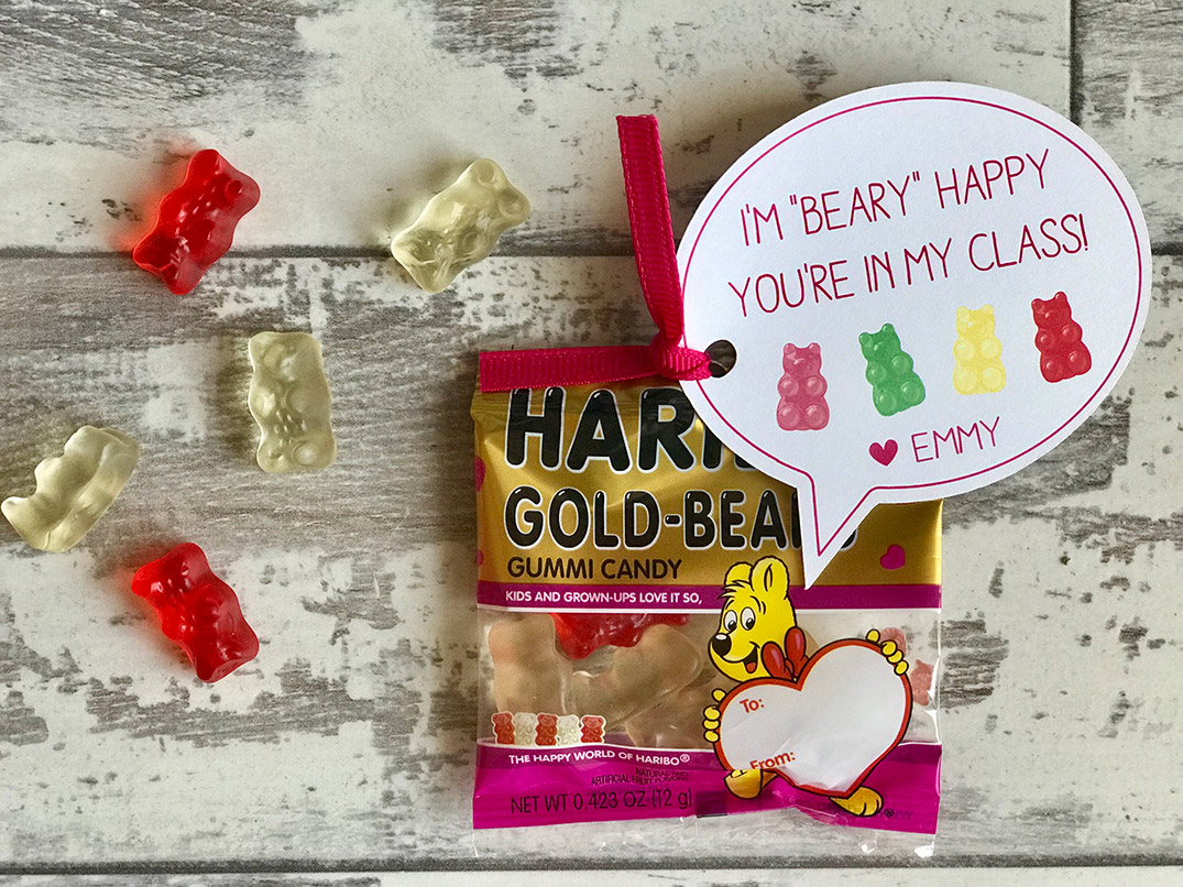 gummy bear valentine's day treat