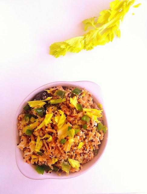 Sałatka z komosą ryżową i tuńczykiem / Quinoa Tuna Salad